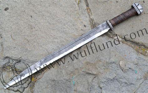 sterling silver knife skjaldborg forged viking axe wulflund com