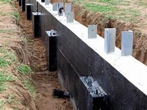 etancheite des fondations et des murs enterres With etancheite d un mur exterieur