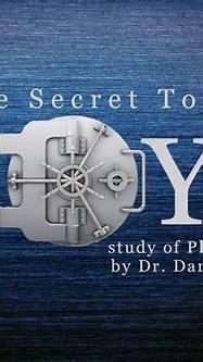 » Sermon Series » The Secret to Joy