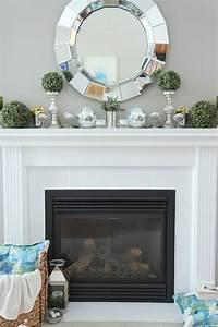 Spring, Mantel, Decorating, Ideas