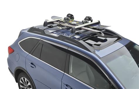 Subaru Snowboard Rack by 2017 Subaru Outback Ski Snowboard Carrier Thule