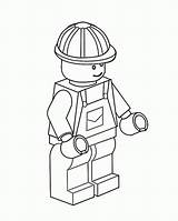 Lego Coloring Construction Worker Pages Coloringsky Printable Colouring Sheets Marvel Under sketch template