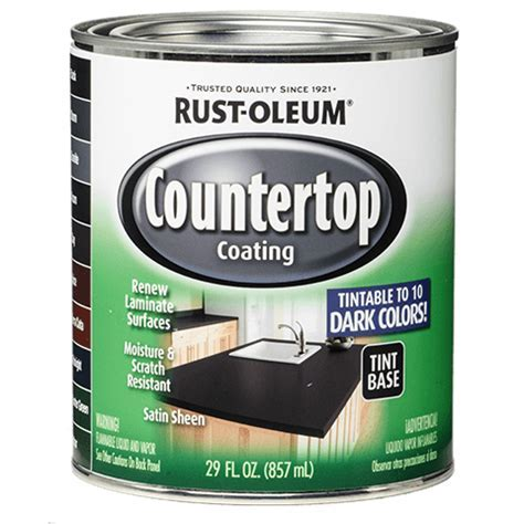 Specialty Countertop Deep Tint Base Product Page