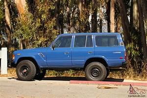 1987 Toyota Fj60 Landcruiser Orig Window Sticker  Orig