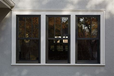 andersen series woodwright insert double hung replacement window black exterior