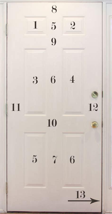 how to paint doors how to paint a six panel door wny handyman