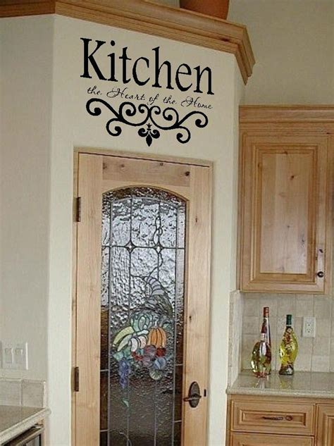 Kitchen Wall Decor Ideas by Kitchen Wall Quotes On Kitchen Wall Sayings