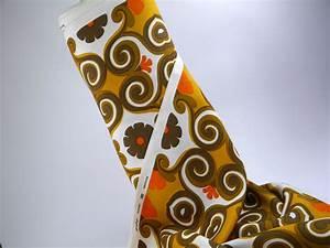 Vintage Stoffe Meterware : lounge stoff 70er meterware fabric vintage gardine vorhang ~ A.2002-acura-tl-radio.info Haus und Dekorationen
