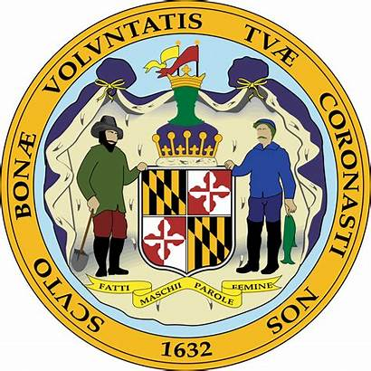 Maryland State Seal Svg Vector Flags Freebie