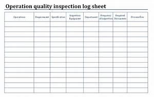 lovely quality control log template ideas resume ideas With quality control check sheet template