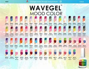 Opi Gel Nail Polish Color Chart Wavegel Wave Gel Mood Color Gel Nail Polish Chart Mood