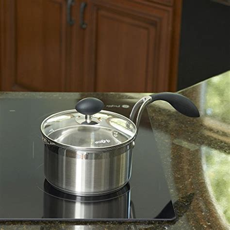 lightweight elderly cookware seniors arthritis saucepan qt lid covered stick stainless non steel hand