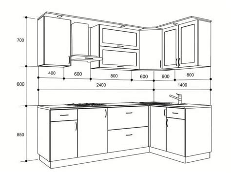 Kitchen Design Standards by Standard Kitchen Dimensions And Layout Engineering