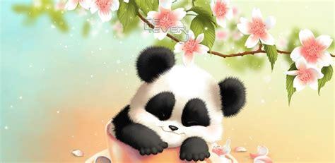 sleepy panda  wallpaper zhivye oboi dlya android