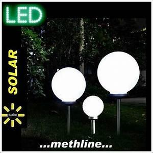 Solarkugel 40 Cm : v solarkugel 30 40 50 cm solarleuchte solarlampe ~ Watch28wear.com Haus und Dekorationen