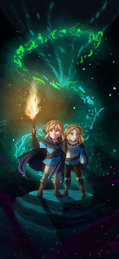 Botw Zelda Wallpapers Backgrounds Legend Breath Wild