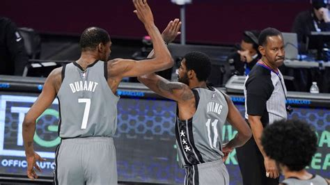 Durant, Kyrie willing to 'sacrifice' to make Harden fit ...