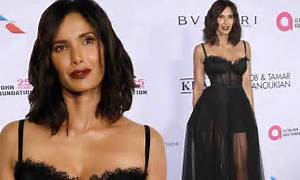 Padma Lakshmi rocks lingerie-inspired dress at NYC gala ...