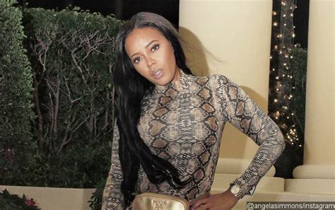Angela Simmons Dating Much Younger Guy One Month After Ex