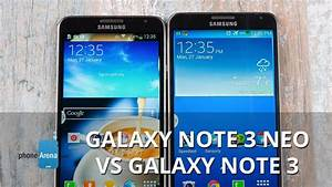 Samsung Galaxy Note 3 Neo Vs Note 3  First Look