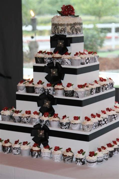 square wedding cupcake towers square wedding cupcake