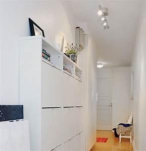 Meuble Couloir étroit : meuble pour couloir etroit ~ Teatrodelosmanantiales.com Idées de Décoration