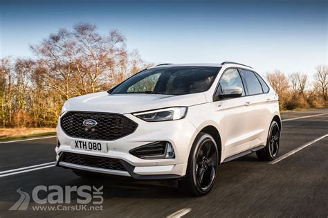 ford edge crossover 2018 ford edge suv gets new 235bhp diesel and st line in