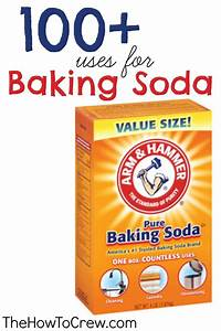 The How-To Crew: How-To Use Baking Soda {100+ Uses} Make