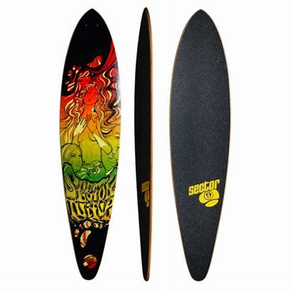 Sector Longboard Skateboard Fanatic Complete Custom Muirskate