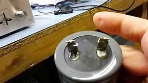 Electrolytic capacitor failure - YouTube