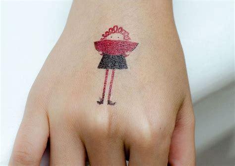 Tatouage Temporaire Tattoo Fille  3€ Les Esthètes