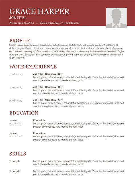 A cv, short form of curriculum vitae, is similar to a resume. CV format download - Free CV Templates