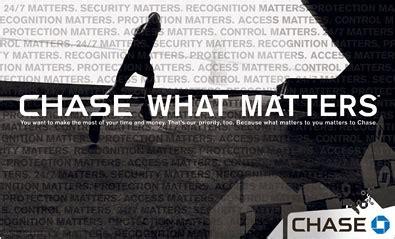 chase launches massive ad campaign