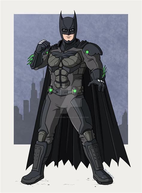 Batman [injustice 2] By Harveybeltran On Deviantart