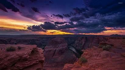 Canyon Grand Sunset Desktop Nature Wallpapers Backgrounds