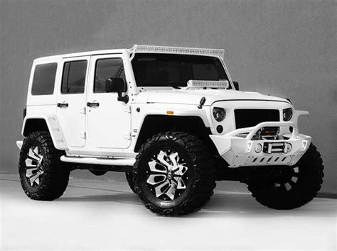 white and black jeep wrangler 2016 jeep wrangler unlimited nav leather custom white