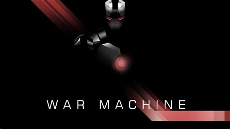 wallpaper war machine black superhero   creative