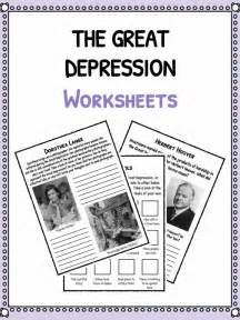 Depression Worksheet The Great Depression Children Facts Imgarcade Com Image Arcade