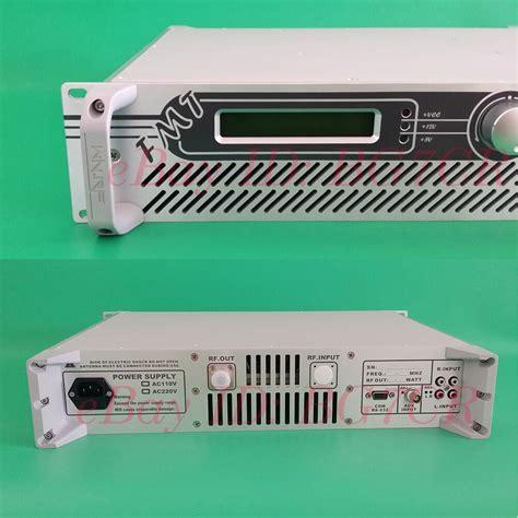 Mhz Broadcast Radio Station Transmitter