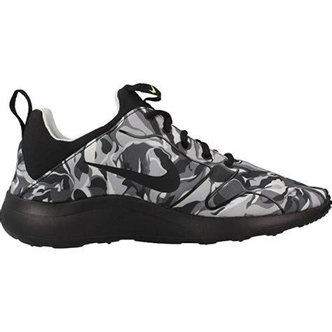 nike kaishi 2 0 grey cool black nike 39 s kaishi 2 0 print running shoe wolf grey black