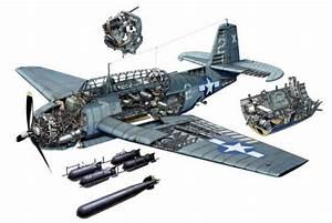 Tbf Avenger Engine Blueprint