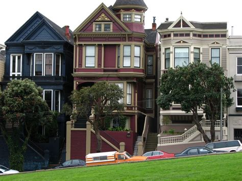 Photo Of Victorian Houses San Francisco