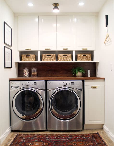 laundry room in kitchen ideas before and after a bathroom turned laundry room chris