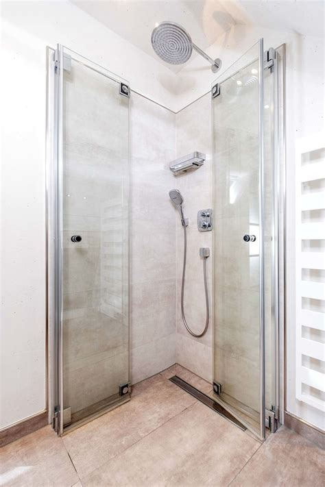 Faltbare Duschwand Für Dusche by Die Besten 25 Duschabtrennung Ideen Auf