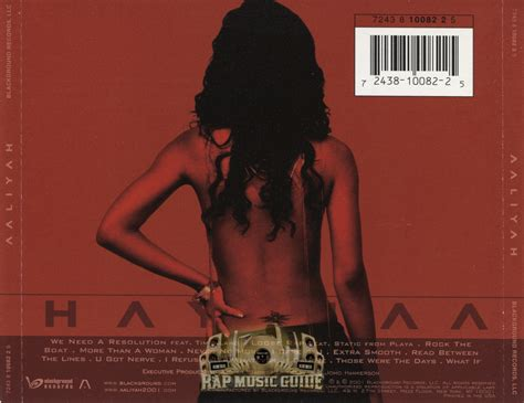 Aaliyah Rock The Boat Cd by Aaliyah Aaliyah Cd Rap Guide