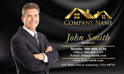 Realtor Real Estate Business Cards With Photo Same Day Business Cards London Uk Staples Login Design Your Own Online Australia Premium Vorlage Innovative Arabic Samples Girly And Flyers Near Me