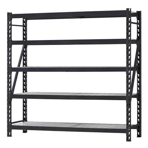 Husky 90 in. H x 90 in. W x 24 in. D 5 Shelf Welded Steel