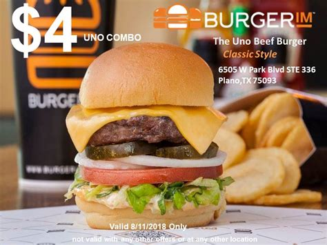 burgerim dallasplano home plano texas menu prices