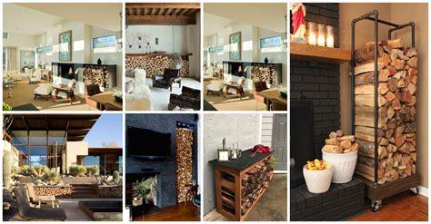 magnificent indoor  outdoor firewood storage solutions
