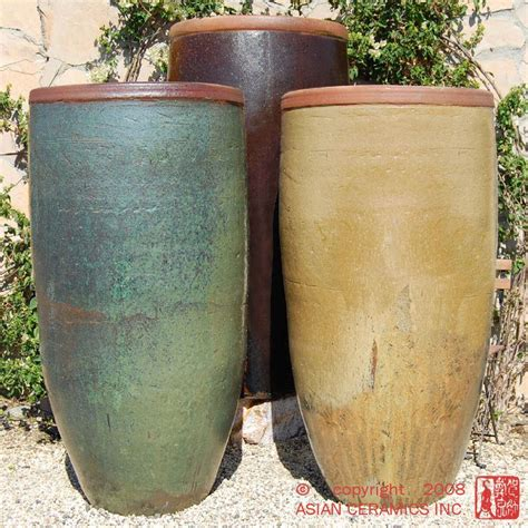 Outdoor Pottery Planters by 25 Best Ideas About Large Ceramic Planters On